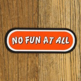 No Fun At All - Logo - Aufnäher (Patch)
