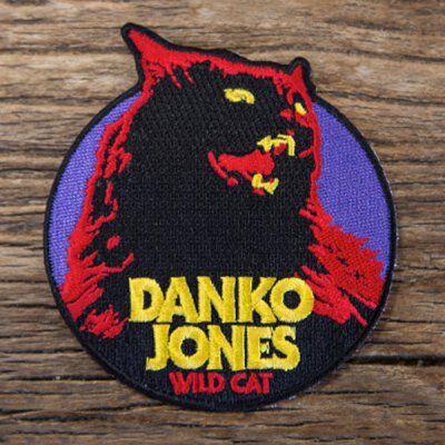 Danko Jones - Wild Cat - Aufnäher (Patch)
