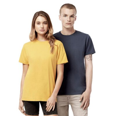 Continental / Earth Positive - EP18 - Organic Heavy Unisex T-Shirt - mango