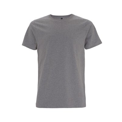 Continental / Earth Positive - EP18 - Organic Heavy Unisex T-Shirt - melange grey