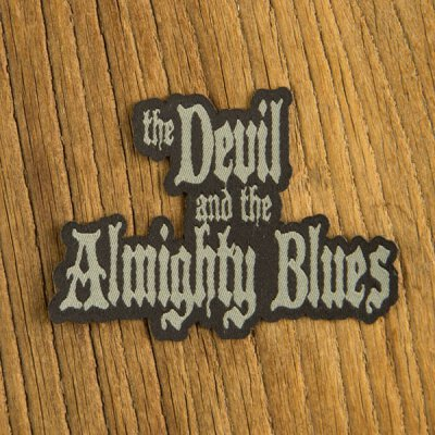 Devil & The Almighty Blues, The - Logo - Patch (Aufnäher)