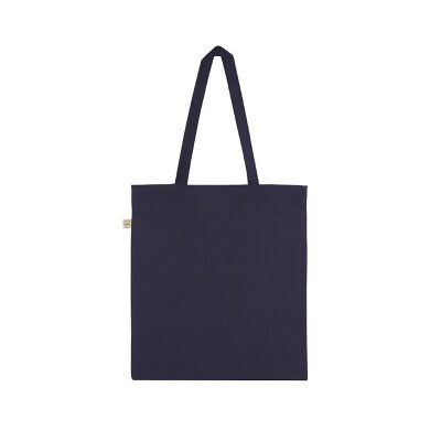 Continental/ Earth Positive - EP71 - Organic Shopper Tote Bag - black