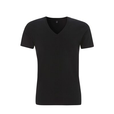 Continental/ Earth Positive - EP03V - Mens V-Neck T-Shirt - black