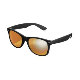 Likoma - Verspiegelte Sonnenbrille - black/orange