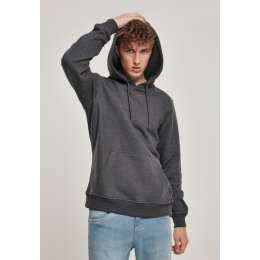 Urban Classics - TB1592 Basic Sweat Hoody - charcoal