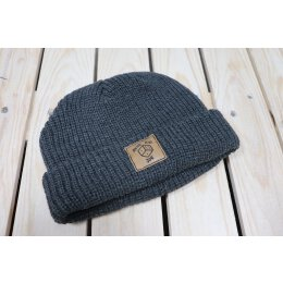 Akne Kid Joe - Würfel - Fisher Beanie (105472) - heather...