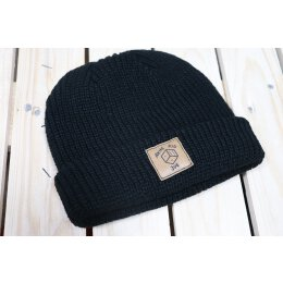 Akne Kid Joe - Würfel - Fisher Beanie (105472) - black...