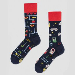 Many Mornings Socks - Game Over - Socken