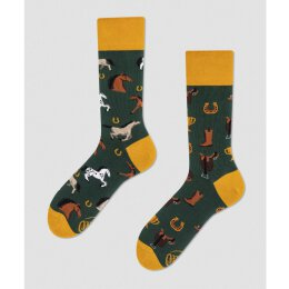 Many Mornings Socks - Horse Derby - Socken
