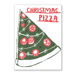 1973 / People Ive Loved - Christmas Pizza - Postkarte