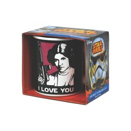 Star Wars - Han Solo & Prinzessin Leia (I Love You) - Tasse