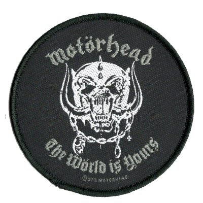 Motörhead - The Wörld Is Yours - Patch