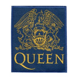 Queen - Lions Logo - Patch (royal / gold)