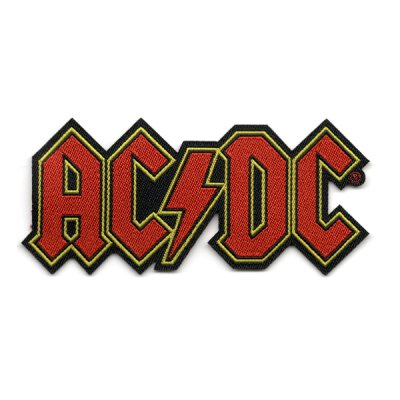 AC/DC - Cut Out Logo - Patch