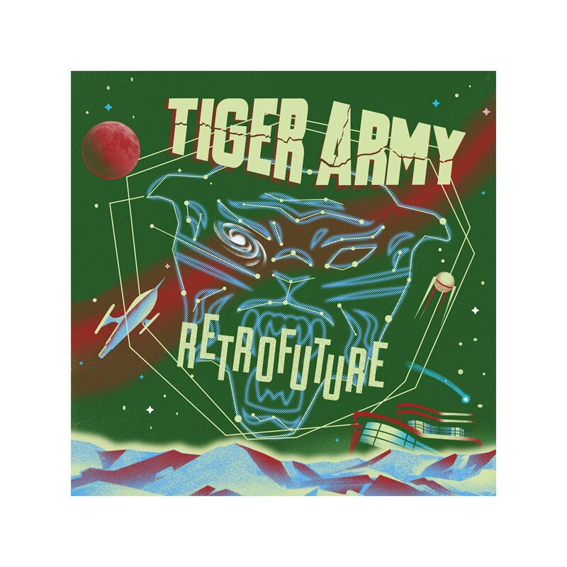 Tiger Army - Retrofuture - LP (colored + \'glow in the...