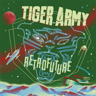 Tiger Army - Retrofuture - LP (colored + glow in the dark cover)