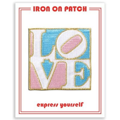 Support Trans Rights (LOVE FLAG) - Iron On Patch...