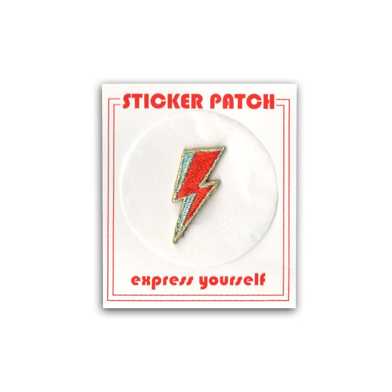 Lightning Bolt - Sticker Patch