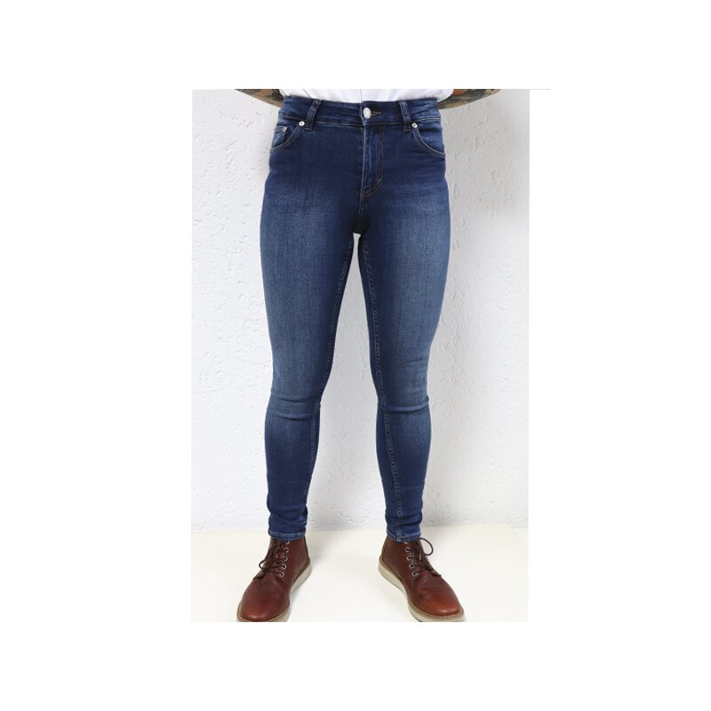 Cheap Monday - Mid Skin - Skin Fit Jeans - Blue Blue