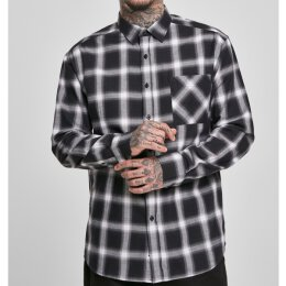 Urban Classics - TB3482 Oversized Checked Shirt -...