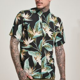 Urban Classics - TB3506 Blossoms Resort Shirt -...