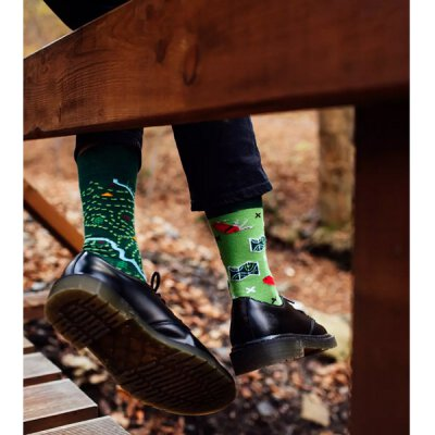 Many Mornings Socks - The Map - Socken