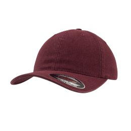 Flexfit - 6997 Garment Washed Cotton Dad Hat - Maroon