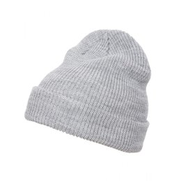 Flexfit - 1545K - Long Knit Beanie - Heather Grey