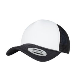 Flexfit - 6005FC - Foam Trucker Cap Curved Visor -...