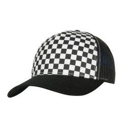Flexfit - 6506CB - Checkerboard Retro Trucker black / white
