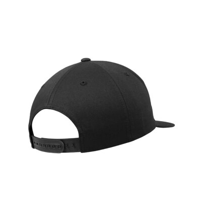 6502 - Unstructured 5-Panel Snapback - black