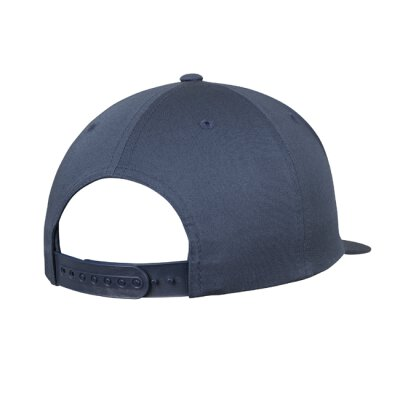 6502 - Unstructured 5-Panel Snapback - navy