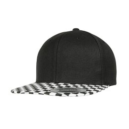 Flexfit - 6089CB - Checkerboard Snapback - black / white