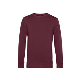 B&C - Organic Crew Neck French Terry ( WU31B) - burgundy