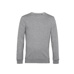 B&C - Organic Crew Neck French Terry ( WU31B) - heather grey