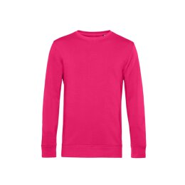 B&C - Organic Crew Neck French Terry ( WU31B) - magenta pink