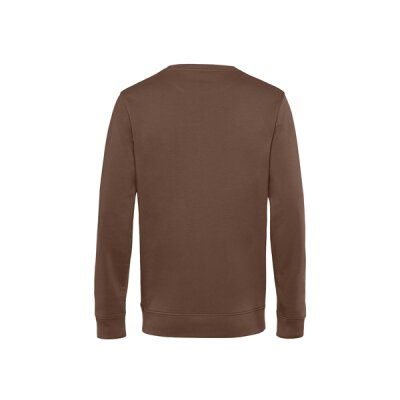 B&C - Organic Crew Neck French Terry ( WU31B) - mocca brown