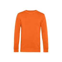 B&C - Organic Crew Neck French Terry ( WU31B) - pure orange