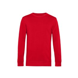 B&C - Organic Crew Neck French Terry ( WU31B) - red