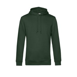 B&C - Organic Hooded Kapuzenpullover ( WU33B) - forest green