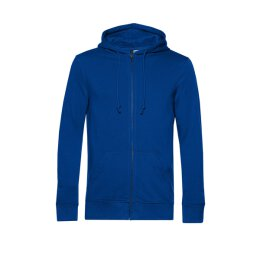 B&C - Organic Zip Hooded Kapuzenjacke ( WU35B) - royal blue