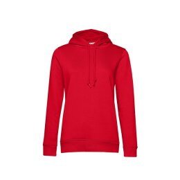B&C - Organic Hooded Women Kapuzenpullover (WW34B) - red