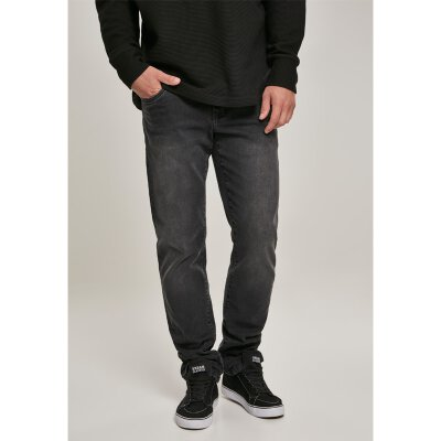 Urban Classics - TB3077 - Relaxed Fit Jeans - real black washed