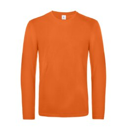B&C - E190 Unisex Longsleeve Shirt (TU07T) - urban orange