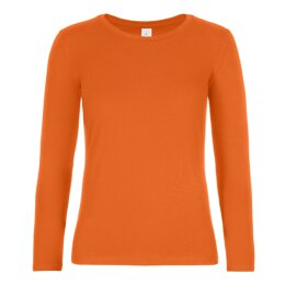 B&C - E190 Women Longsleeve (TW08T) - urban orange