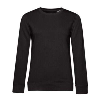 B&C -  Organic Crew Neck French Terry  Women (WW32B) - black