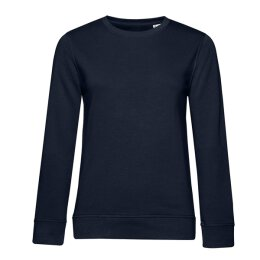 B&C -  Organic Crew Neck French Terry  Women (WW32B) - navy