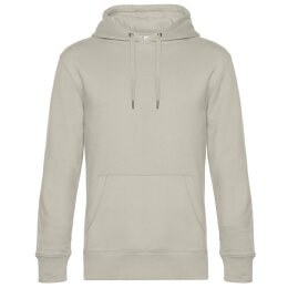 B&C - King Hooded Unisex Kapuzenpullover  (WU02K) - grey fog