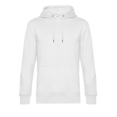B&C - King Hooded Unisex Kapuzenpullover  (WU02K) - white