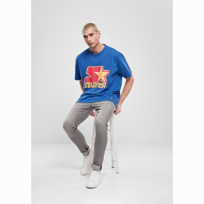 Starter - Colored Logo (ST026) - Tee - blue/red/yellow